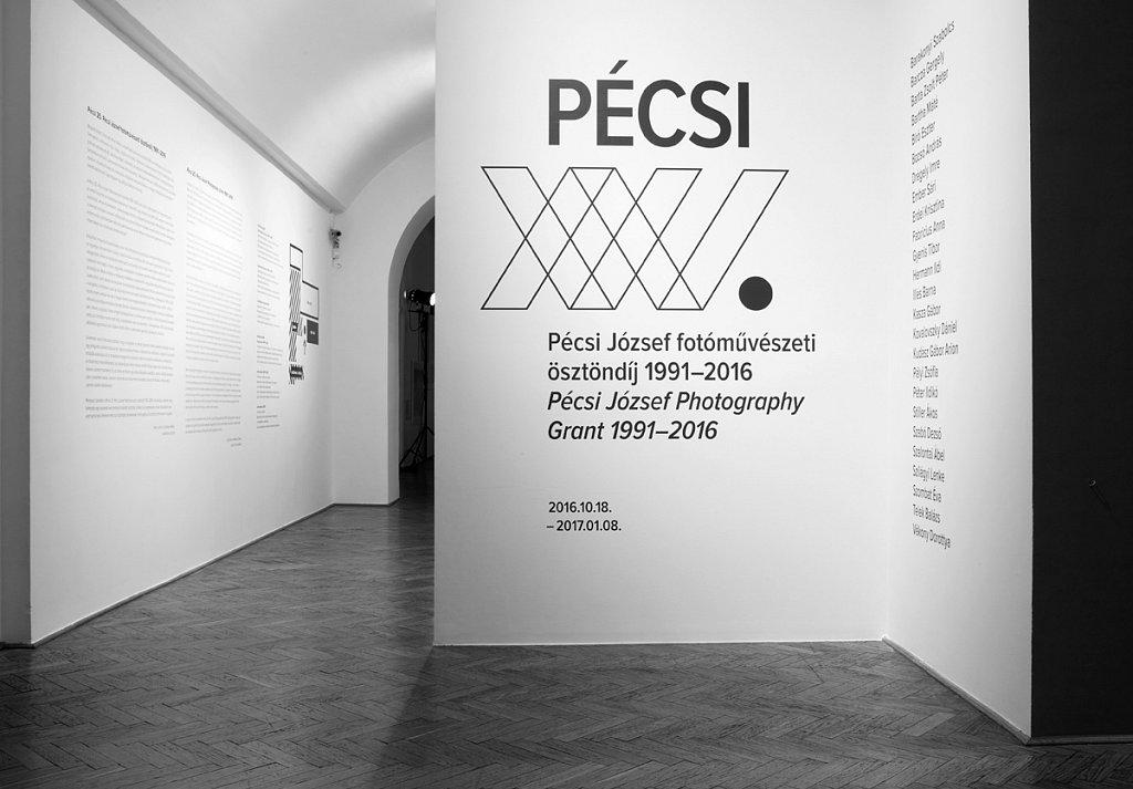 Jozsef Pecsi Photography Grant 25th Anniversary exhibition at Capa Center Budapest, 2016.